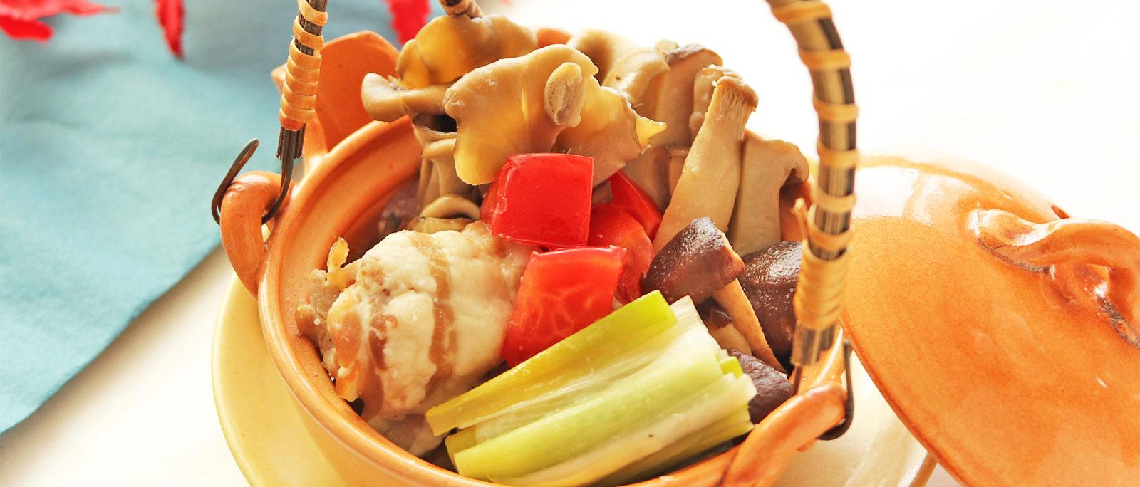 豚バラ肉のチェリーサンラータン